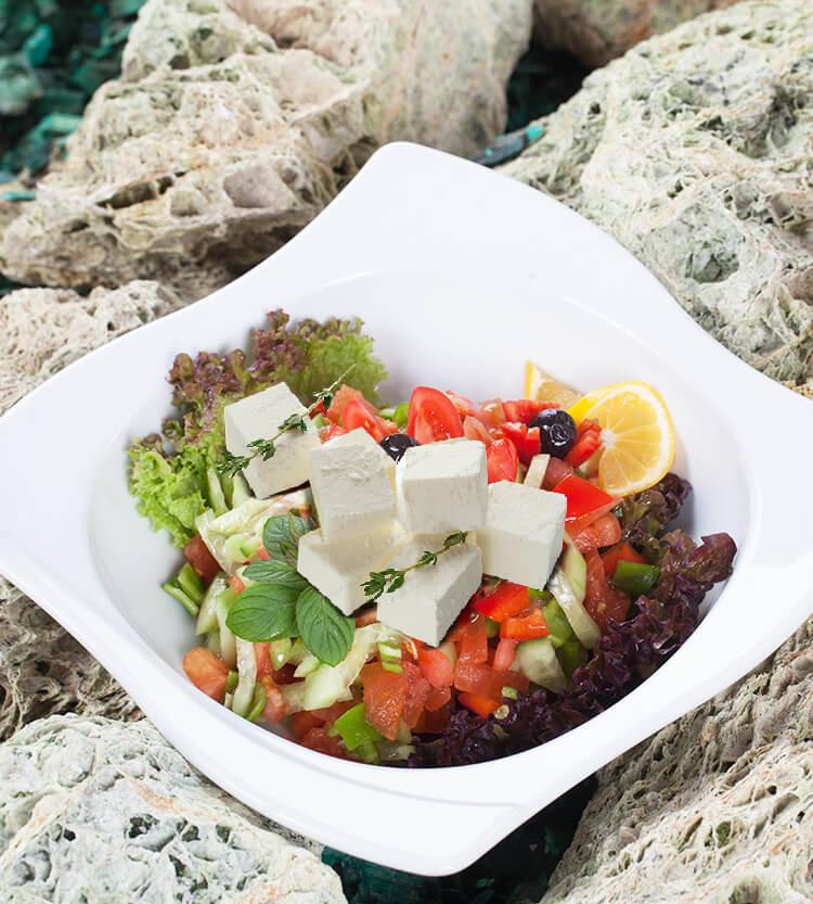 Peynirli Çoban Salata